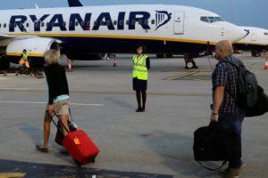 Ryanair passengers