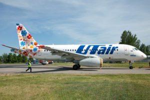 Utair airplane