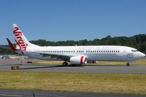 Virgin Australia aircraft Boeing 737