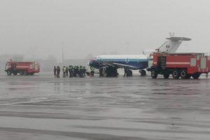 Yak-40 collided