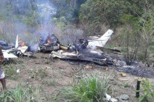 aircraft Cessna U206G Stationair crashed