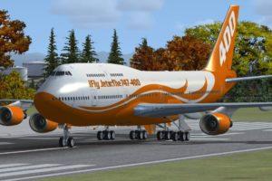 iFly airplane
