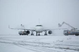 snowfall us airport